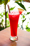 watermelon juice cocktail in asia