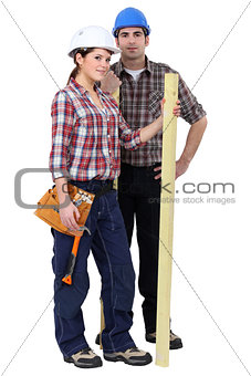 Couple of carpenters