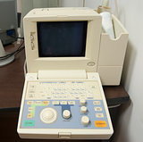 ECG machine in a doctors surgery