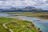 Scenic Norway in summer