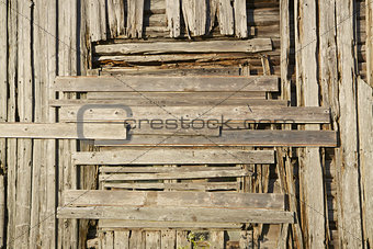 Old wooden facade