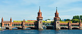 oberbaumbruecke bridge berlin germany