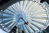 propellerblade roof postdamer platz berlin germany