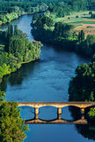 medevial bridge over the dordogne river