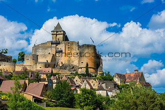 castle of castelnaud la chapelle france