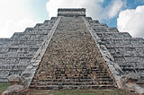 Kukulkan Pyramid chichen itza mexico yucatan