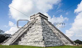 Kukulkan Pyramid chichen itza mexico yucatan