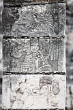 temple of the jaguar warrior  Chichen Itza