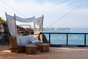 deck chair by the sea
