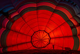 inside one Hot Air Balloon