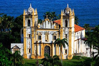 carmo church olinda recife brazil