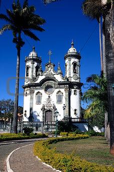 sao joao del rey church minas gerais  brazil