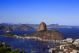 botafogo and rio de janeiro and the sugarloaf brasil