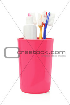 Toothbrushes and Toothpaste