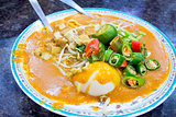 Malay Mee Rebus Dish