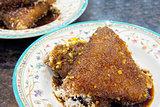 Malay Kueh Lopes Dessert Closeup