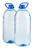 Pair of big bottles of water
