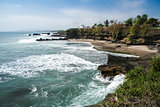 volcanic coastline bali indonesia