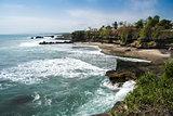 volcanic coastline bali indonesia