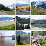 Collage - Germany and Austria