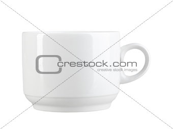 Clean cup of modern-design