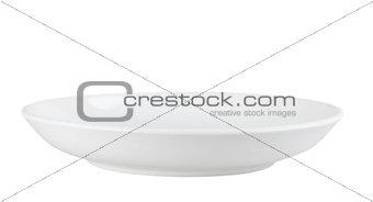 Clean tea-saucer