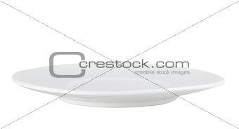 Clean single circle plate