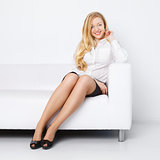 Office Girl Relax