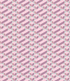 pink geometrical