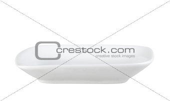 Single rectangular tray