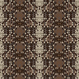Snake skin reptile seamless pattern, vector Eps8 illustration.