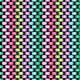 Seamless pattern with polka dots