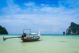 longtail boat koh phi phi