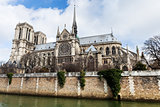 cathedral Notre Dame de Paris