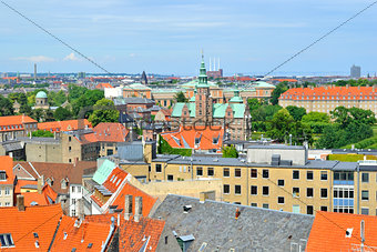 Copenhagen top-view