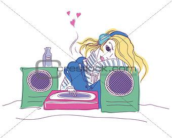 girl - dj