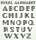 Pixel Alphabet