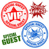 Special guest stamps