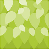 Leaf background illustration