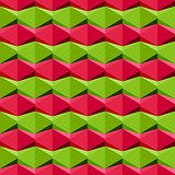 Seamless geometric pattern, vector Eps8 illustration.