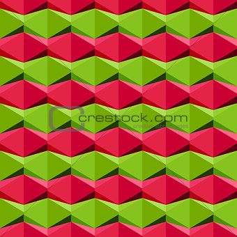 Seamless geometric pattern, vector Eps8 illustration.