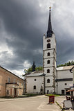 Catholic church in Frymburk, Czech Republic.