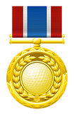 Golf medal