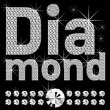 new set of diamond bold letters