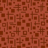 tetragonal seamless pattern