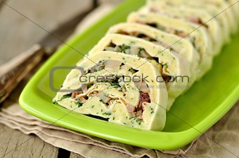Potato and Herring Roll