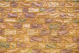 yellow brick wall for background texture purpose
