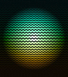 Background with optical illusion effect