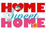 Home Sweet Home Alphabets Illustration