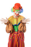 Portrait of a funny clown